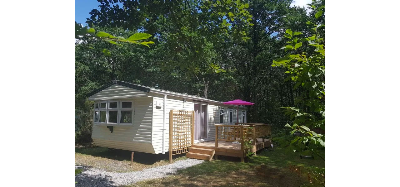Mobil-home spacieux