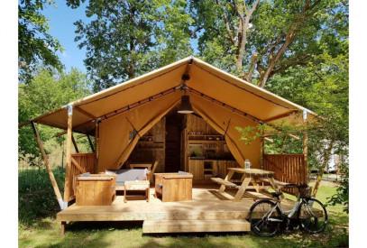 glamping lodge safari